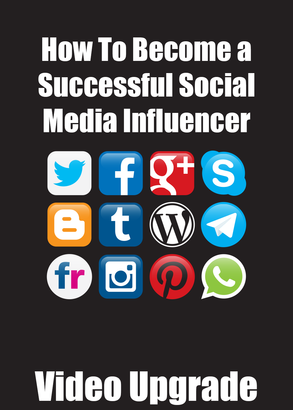 How To Become A Successful Social Media Influencer Video